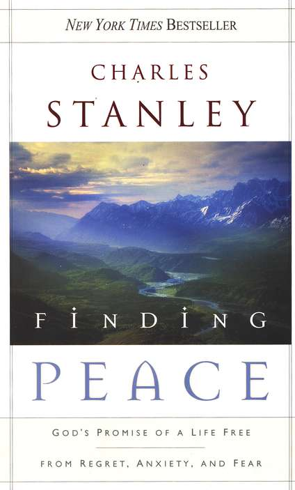 Charles Stanley book, Finding Peace